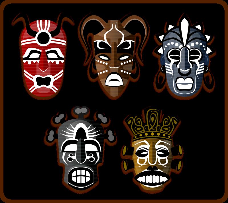 Free Tribal Masks