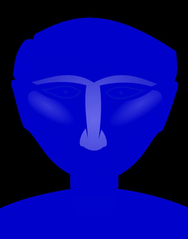 Free male head