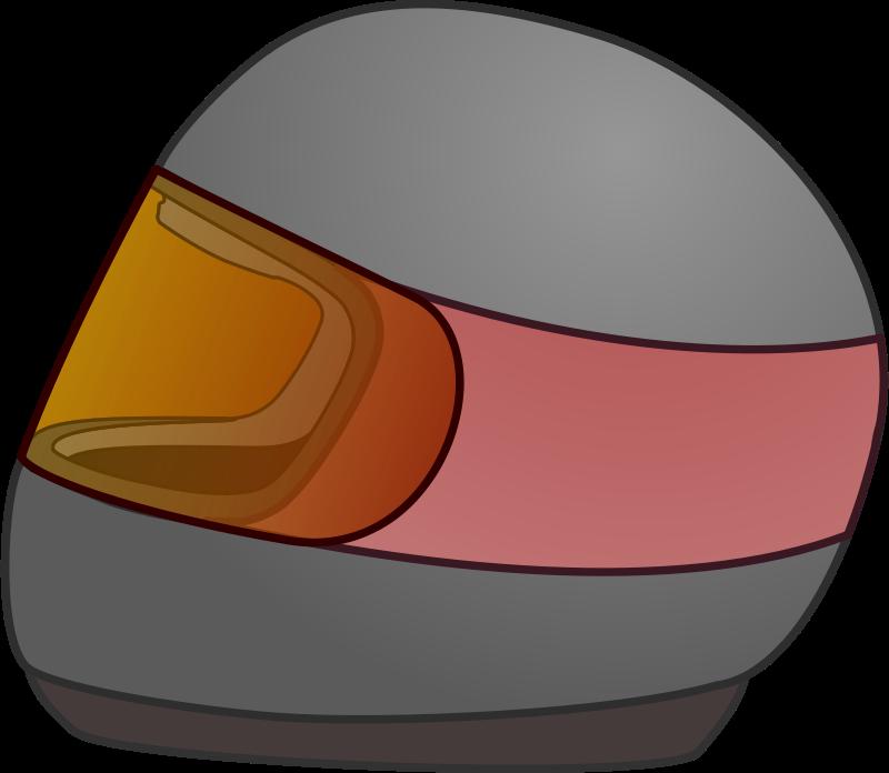 Free Simple Bike Racing Helmet Icon
