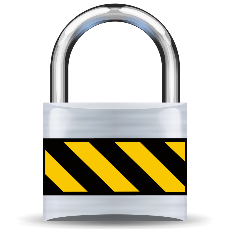 Free Clipart: Secure Padlock Silver Light | rygle