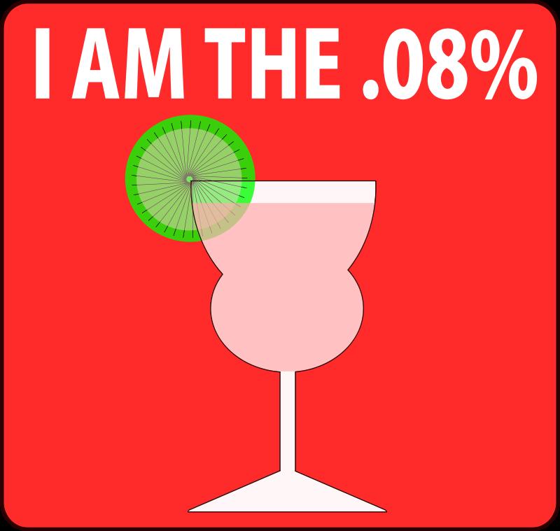 Free I Am The .08% - Feminine