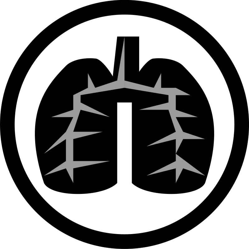 Free Black Lung Icon