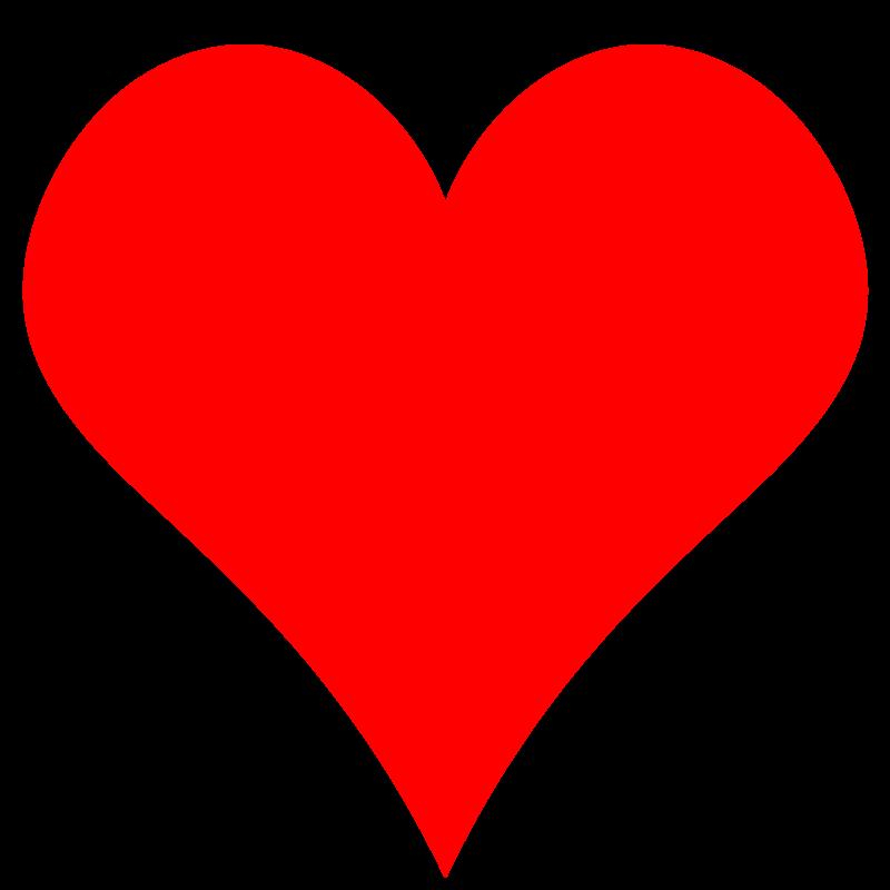 free clipart plain red heart shape gr8dan rh 1001freedownloads com heart shape clip art free heart shape clipart black and white