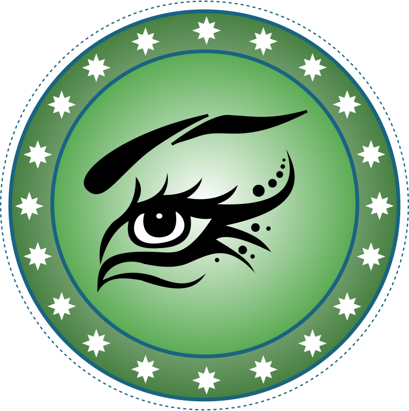 Free Clipart: Chip Eye Green | jogdragoon