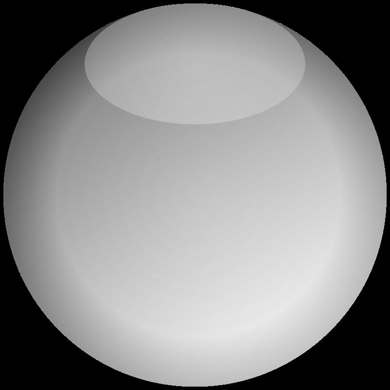 Free Empty Button Gray