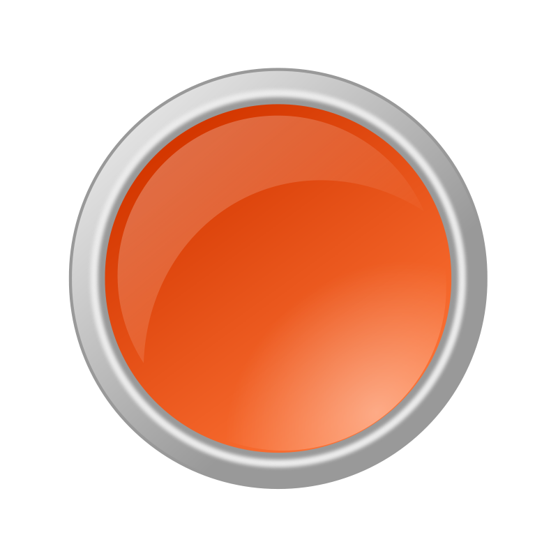 Free Glossy Orange Button