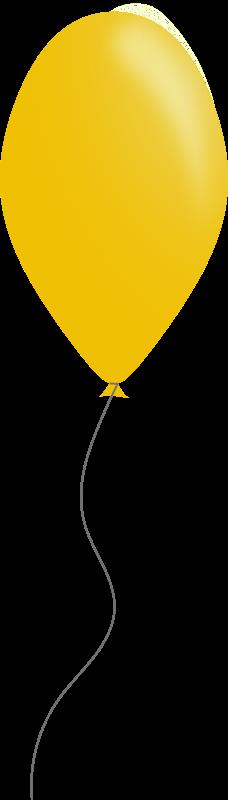 Free Yellow balloon