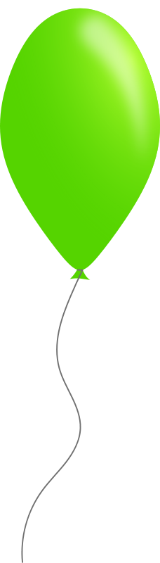 Free Green balloon