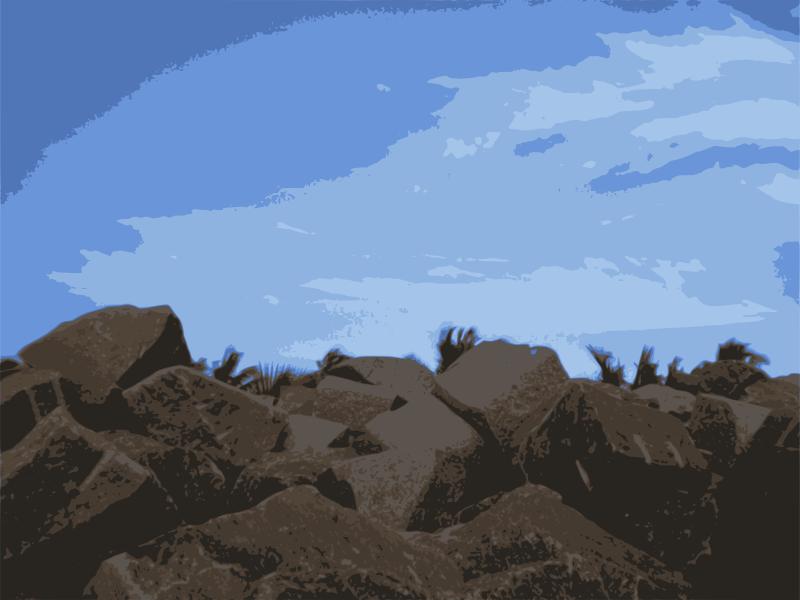Free Sky-on-Rock