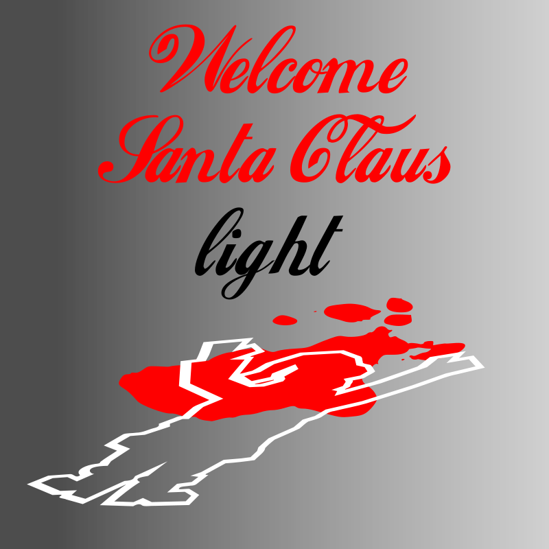 Free Welcome Santa Claus Light
