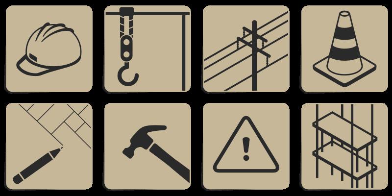 Free Clipart Construction Symbols Printerkiller