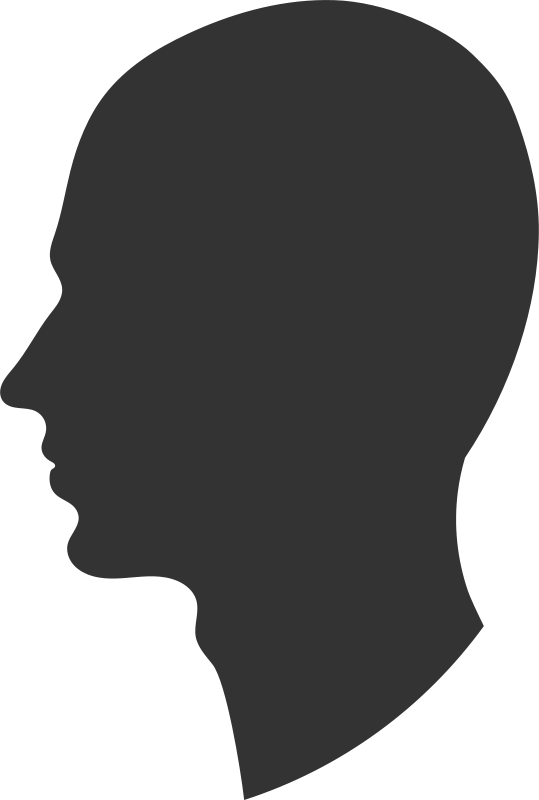 free clipart head profile printerkiller rh 1001freedownloads com clipart headset clipart headache