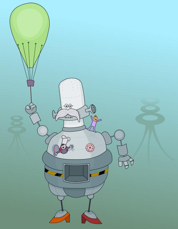 Free roboter