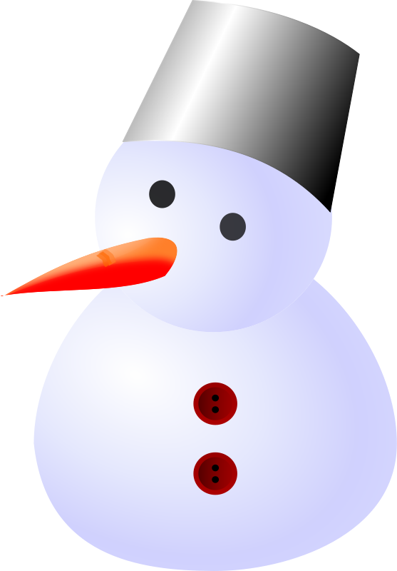 Free snow man