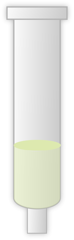 Free chromatography column