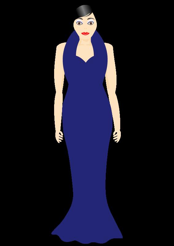 Free Dressy in Blue