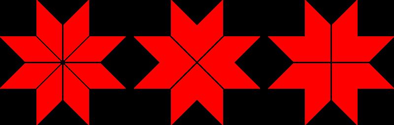 Free Perun's cross aka Sebulrose