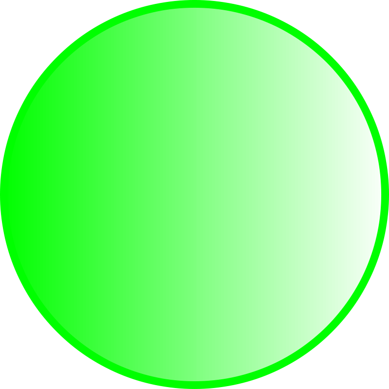 Free Green sphere