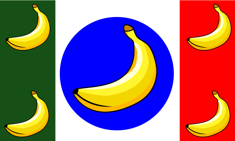 Free it remix Banana Republic Flag