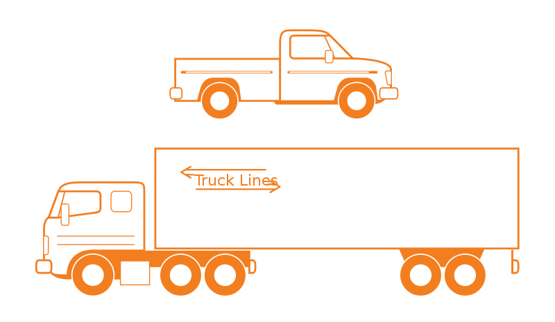 Free Semi and Pickup Trucks