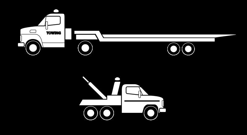 Free Deux camions noirs