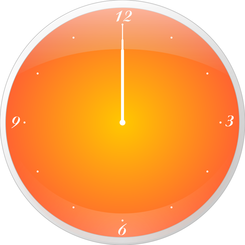 Free Clipart: Mac Clock | ScapeArt