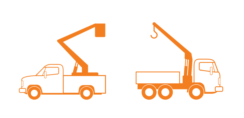 Free Lift and Crane Trucks