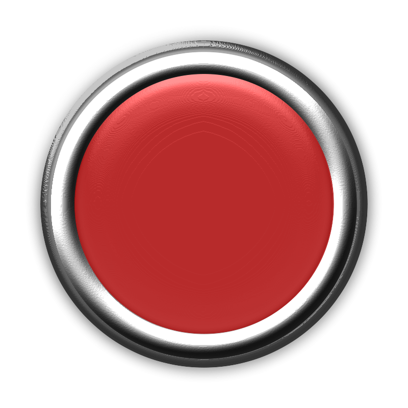 Free Clipart: Red Button with Internal Light Turned Off | GR8DAN