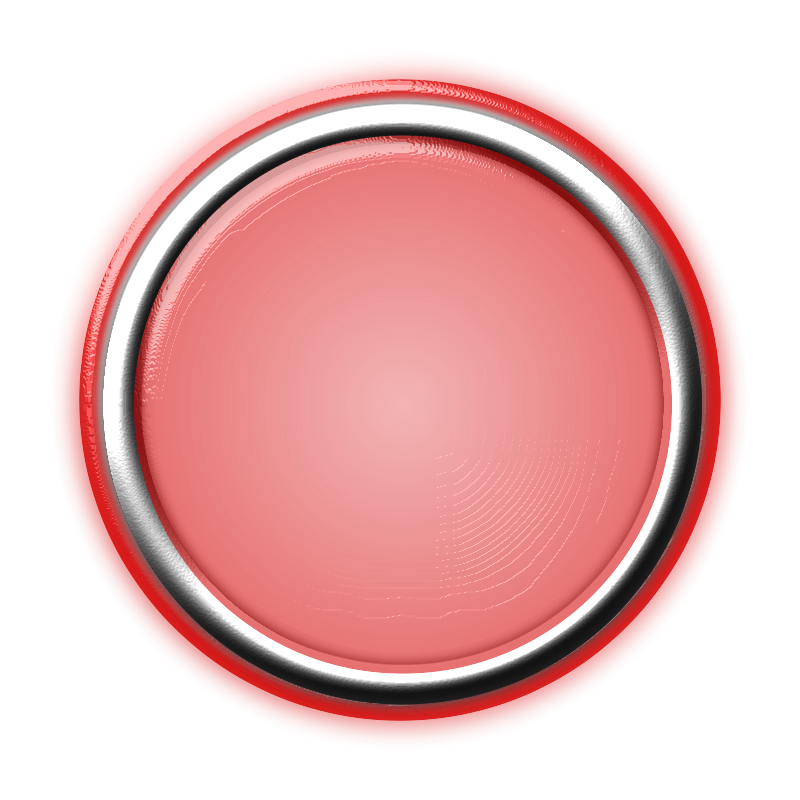 Free Red Button with Internal Light and Glowing Bezel