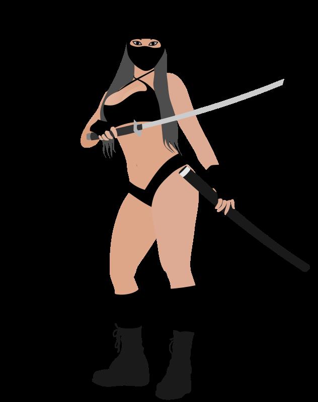 Free Ninja girl