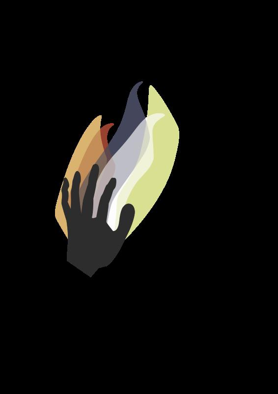 Free hand logo