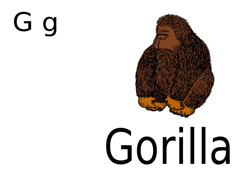 Free G for Gorilla