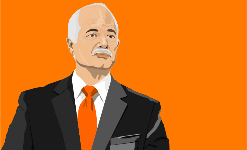 Free Clipart: Jack Layton | gingercoons
