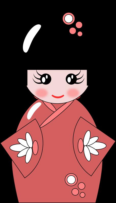 Free Kokeshi Doll