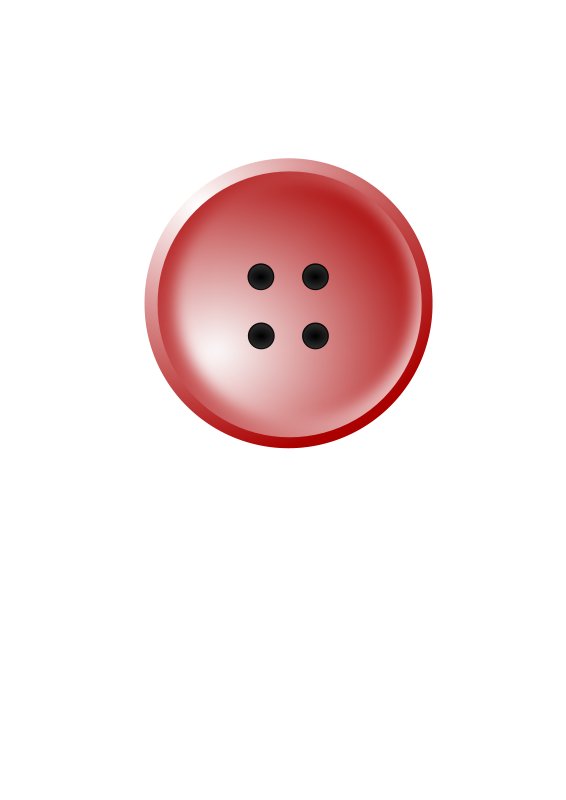 Free Clipart Red Shirt Button Ryan S