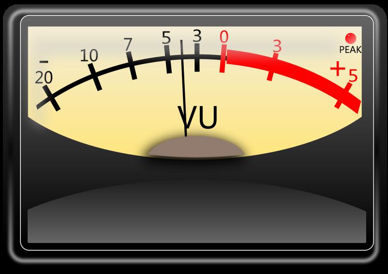Free VU meter. Medidor VU