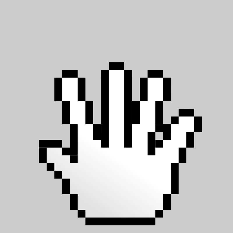 Free MultiTouch-Interface Pixel-theme Hand-Hold
