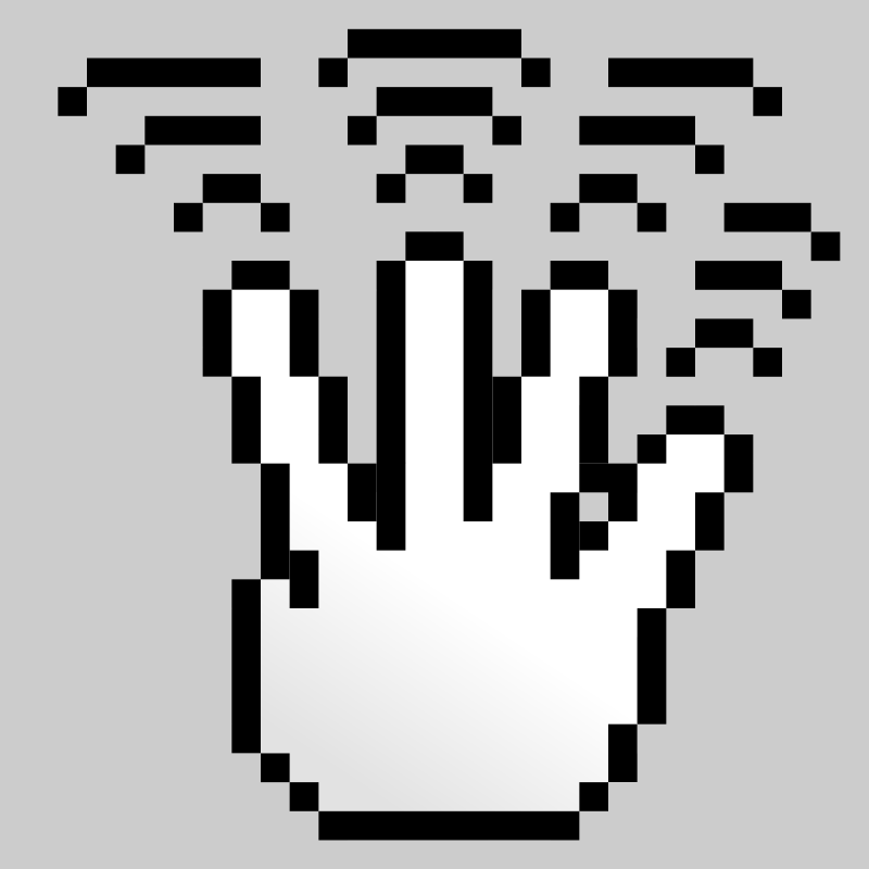Free MultiTouch-Interface Pixel-theme 4-fingers-Triple-Tap