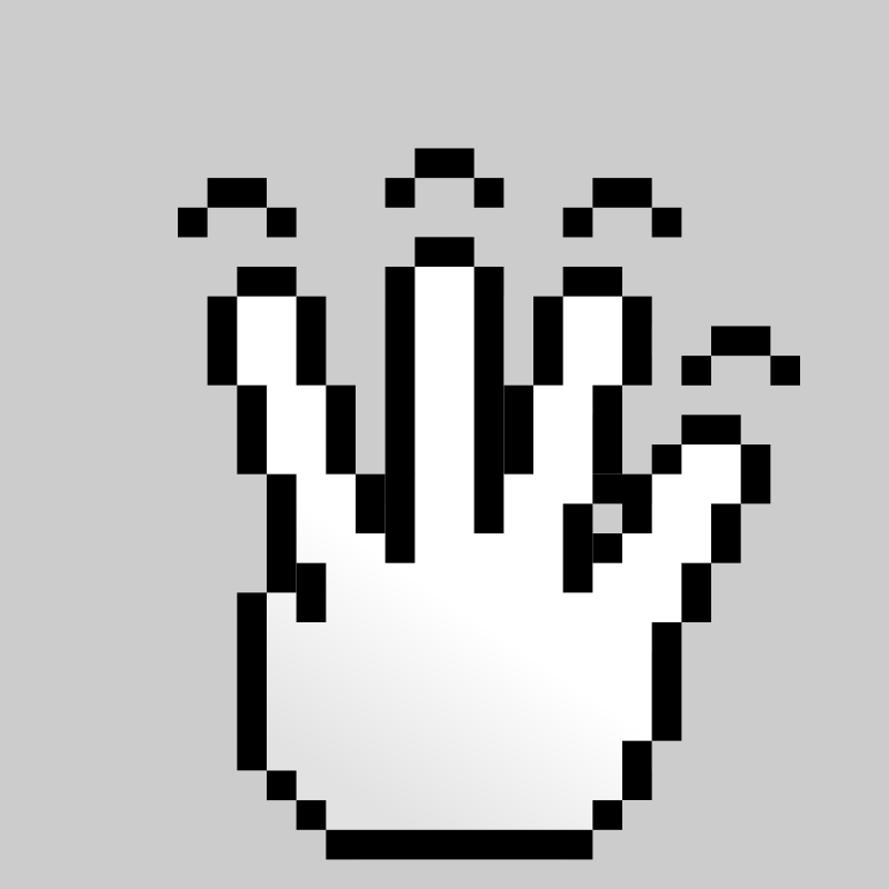 Free MultiTouch-Interface Pixel-theme 4-fingers-Simple-Tap