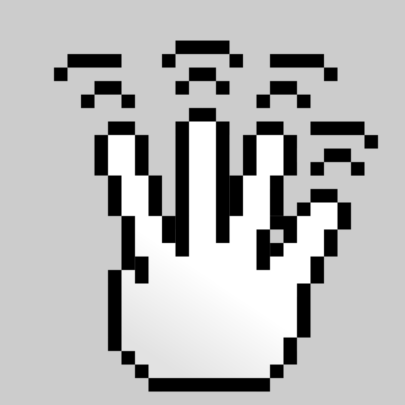 Free MultiTouch-Interface Pixel-theme 4-fingers-Double-Tap