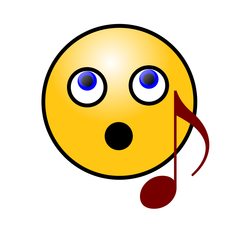 Free Singing Smiley Face