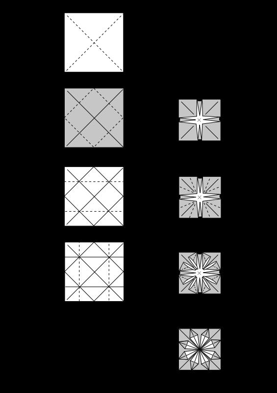 Free Origami Decoration Instructions