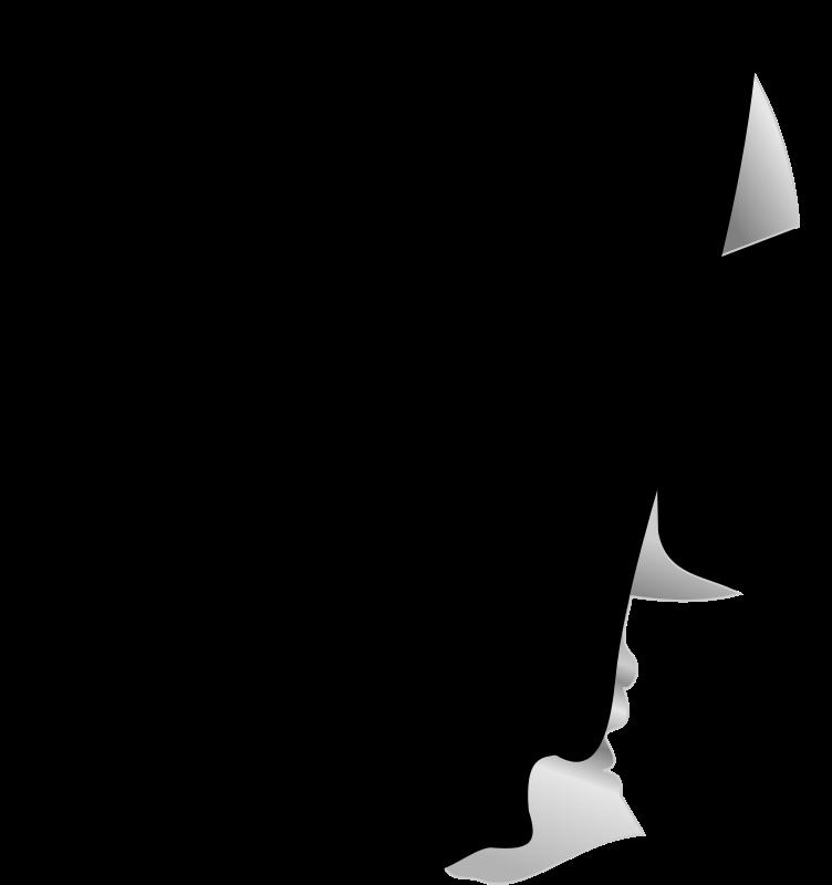 Free Catholic Nun Silhouette Profile