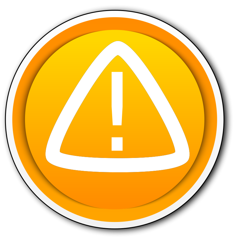 Free Warning button. Boton advertencia