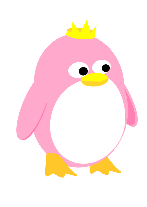 Free Princess Penguin