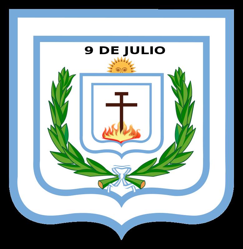 Free Clipart: Escudo de la Municipalidad de 9 de Julio | Aghustyn