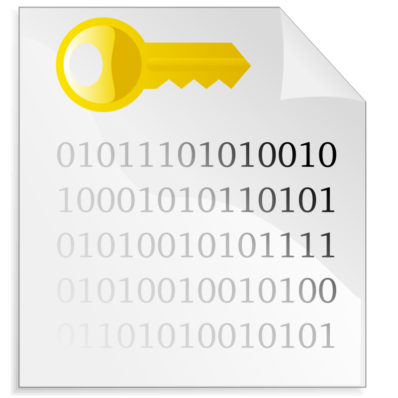 Free Encrypted file icon