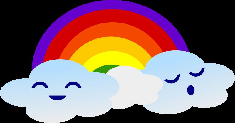 Free Kawaii Rainbow