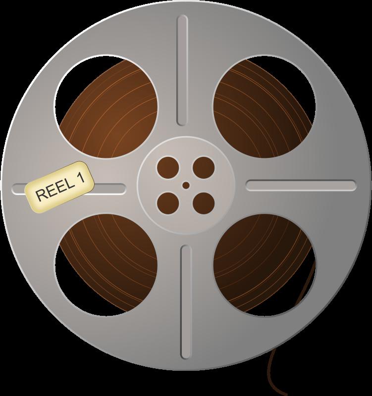 free clipart film tape reel studio hades
