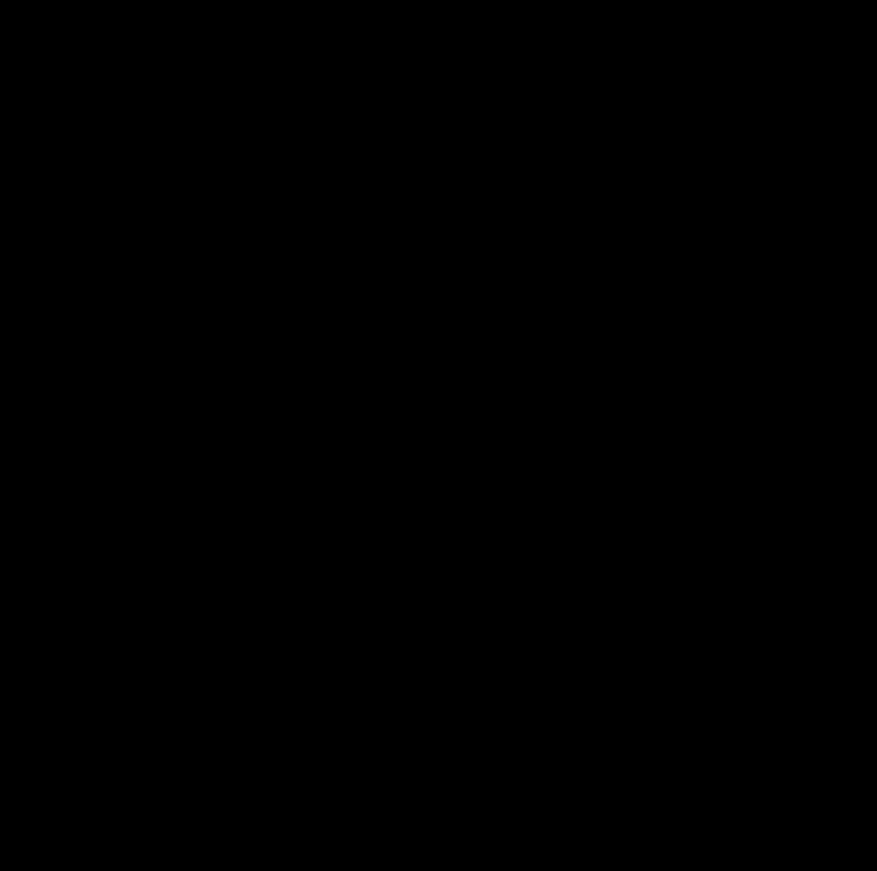 Free Santa Claus silhouette profile dingbat